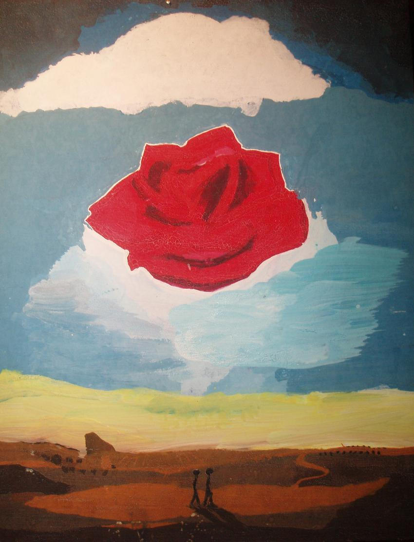meditative rose Bodypainting by justyna salvador dali meditative rose more information   meditative rose, 1958 by salvador dali, classic period surrealism find this pin .
