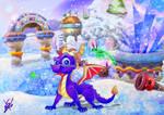 Spyro Icy Peak Redo by SEBASTIEN11