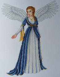 November 2015 - Angel Cross Stitch by SmiteTheeWithApples
