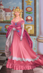 Princess Peach by SmiteTheeWithApples