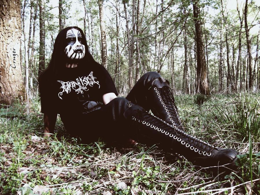 Black metal girl v3 by CRUELGERM on DeviantArt