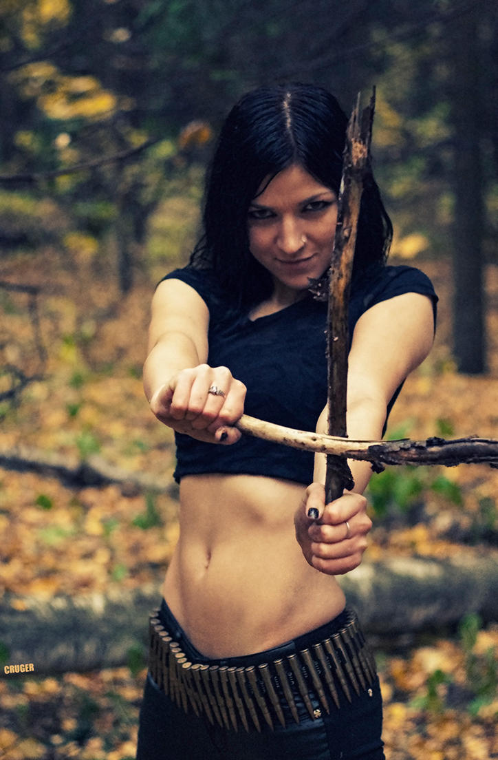 Forest satanic slut by CRUELGERM