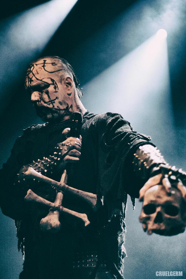 The True Mayhem - Attila Skull 2 by CRUELGERM