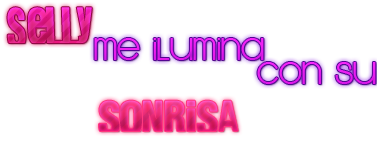 Texto Selly Me Ilumina Con Su Sonrisa. by AbiiEditions