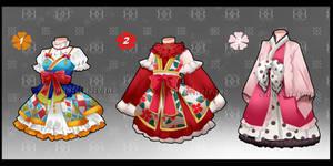 Dress Adoptables [Open 1/3]