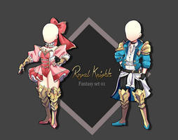 Royal Knights Outfit Adopt [Closed] by VanillaCirque