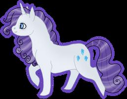 MLP Rarity by silveredraincloud