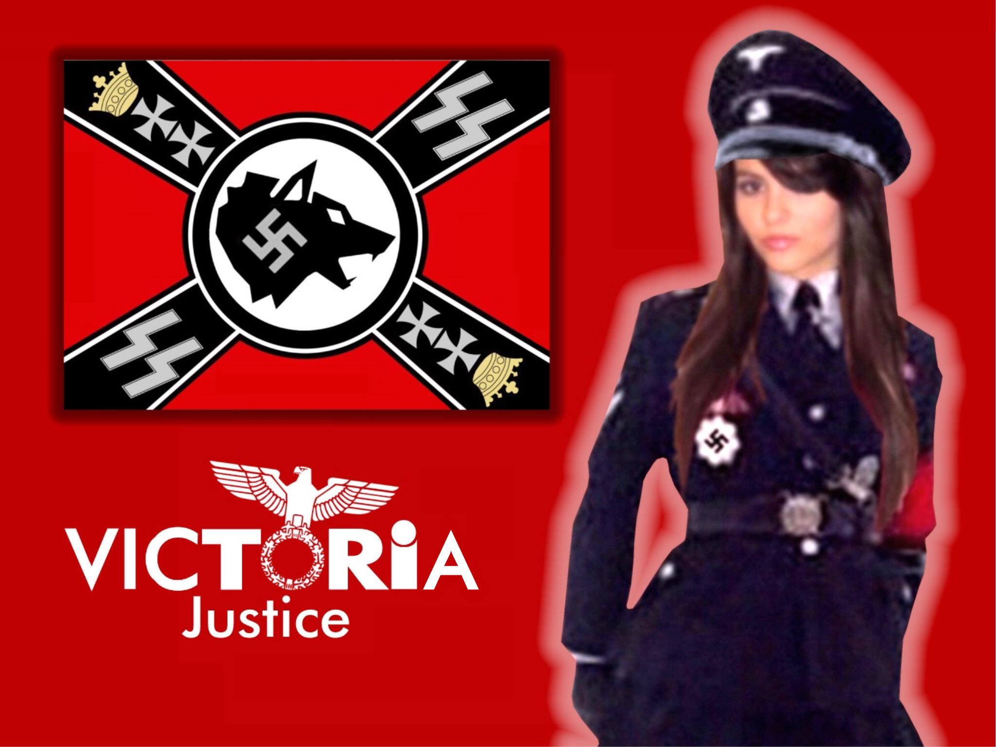 Nazi Victoria Justice by Encore2012