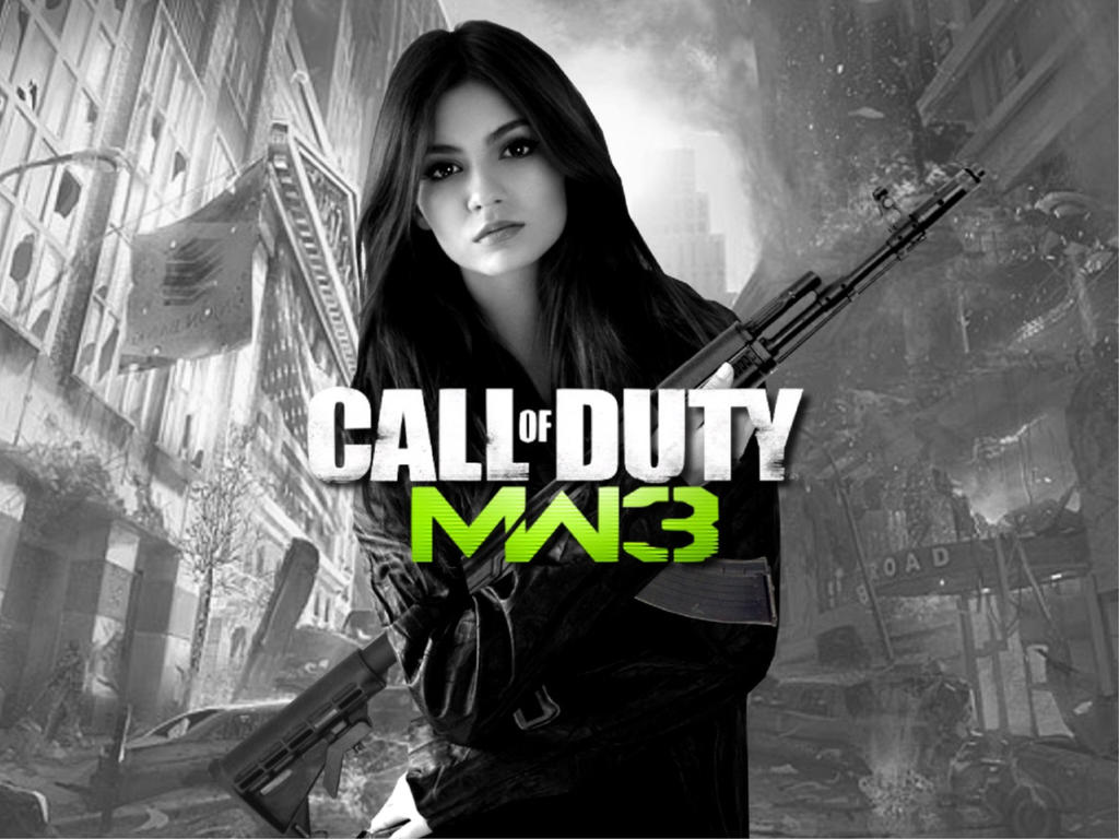 Victoria Justice Modern Warfare 3 By Encore2012