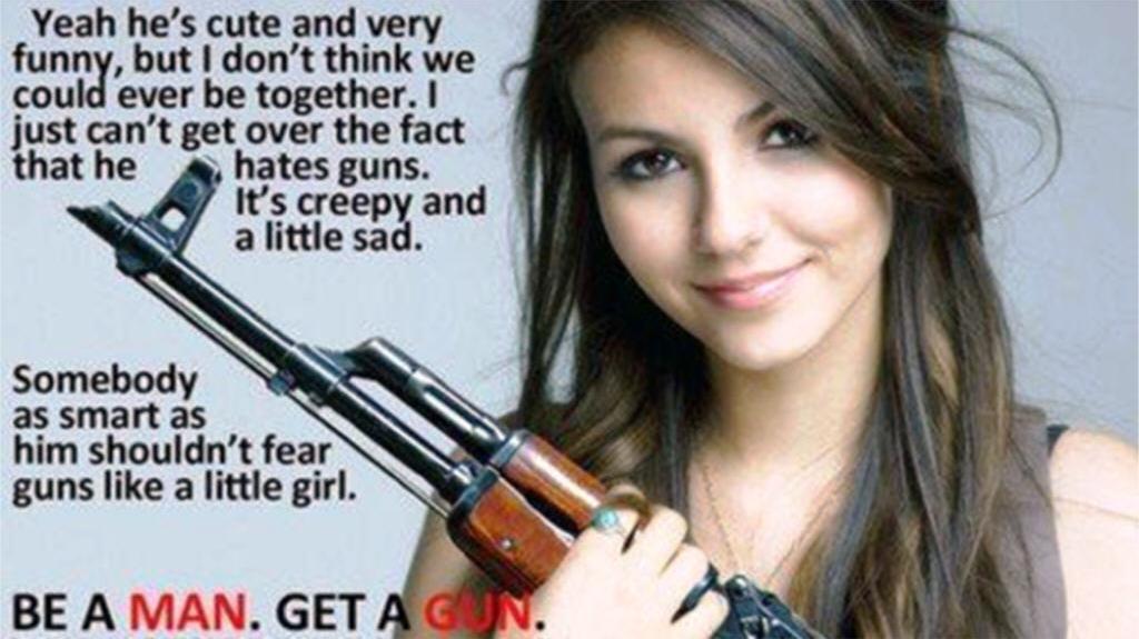 Be a man. Get a gun by Encore2012