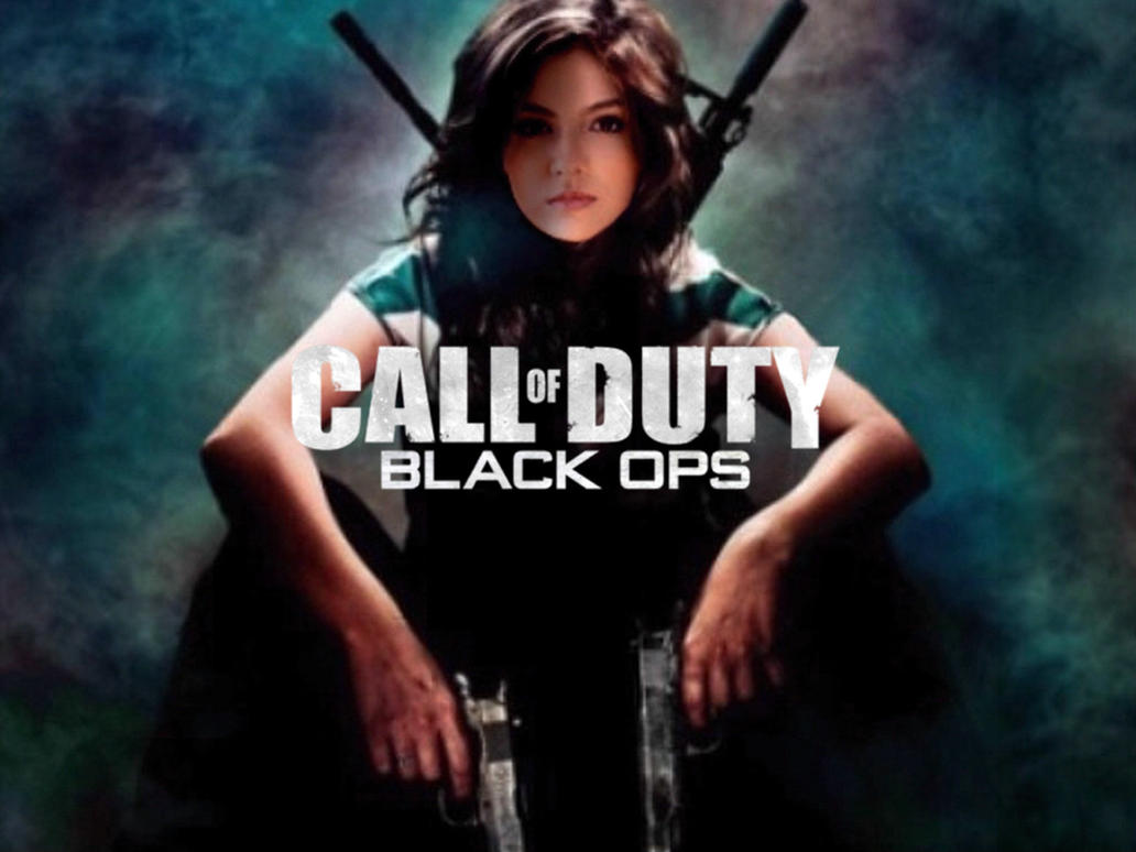 Victoria Justice Black Ops by Encore2012