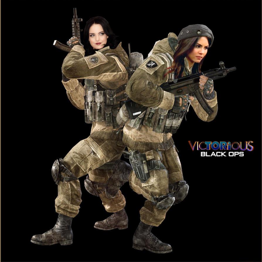 jade x tori Black Ops by Encore2012
