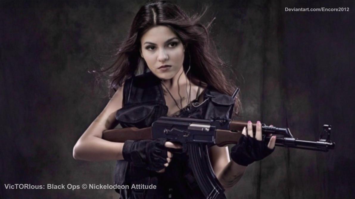 Victoria Justice AK-47 by Encore2012