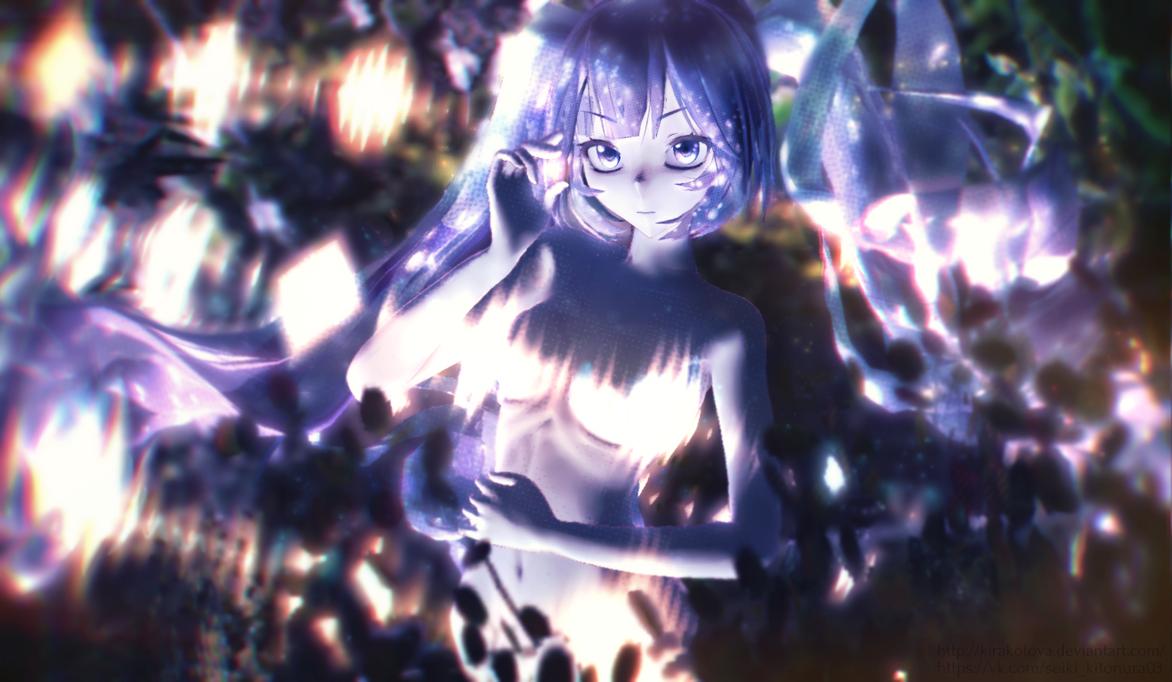 [Art MMD]Hatsune Miku - Magic forest by KiraKoToVa