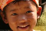 Children smile by eutily