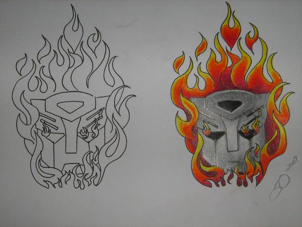 Autobot tattoo by vermilionbirdy
