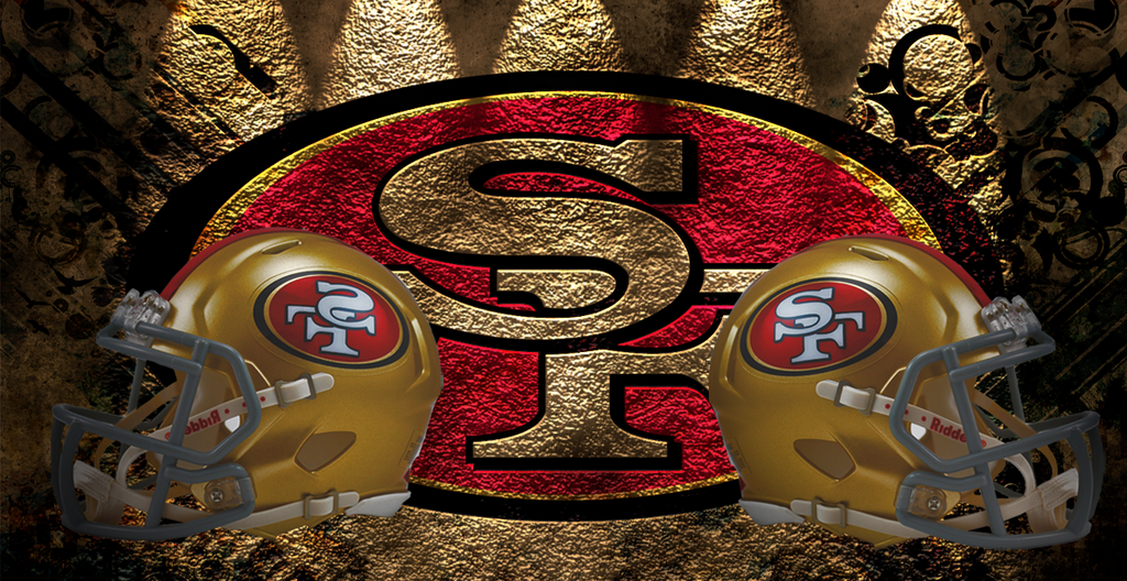 san francisco 49ers logo wallpaper