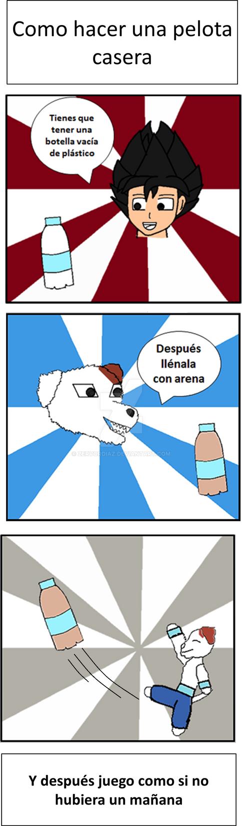 Como hacer una pelota casera by zervordiaz on deviantart - Como insonorizar una habitacion casera ...