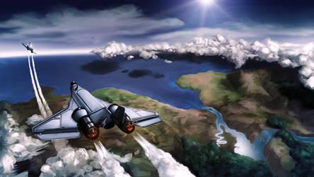 KSP: Jet Set (Wallpaper ver.)