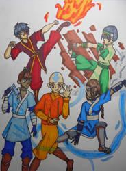 Avatar the Last Airbender by LailaIzuka