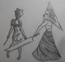 Silent Hill Fan Art by LailaIzuka