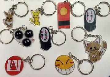 Keychain Group #1 by LailaIzuka