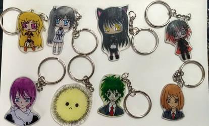 Keychain Group #2 by LailaIzuka