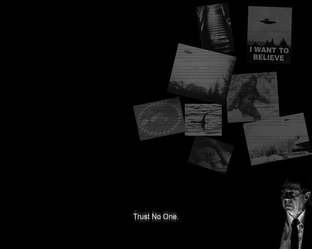 X Files Trust No One By Fakeman