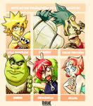 6 Characters FanArt