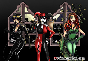 Gotham City Sirens by L-Ange-Noir