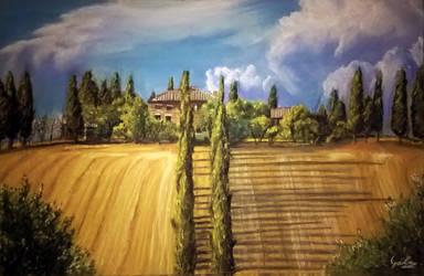 Tuscany, Italy by Levig22