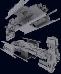FW Terran Battlecruiser by DrZed