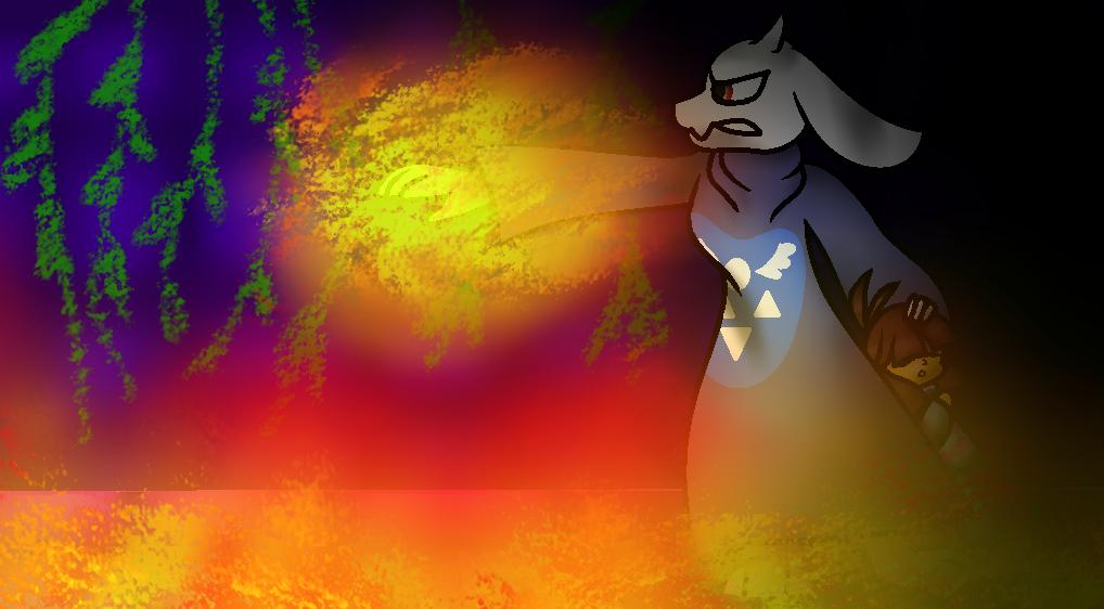 Angry Toriel2 by WIKUNIAK2