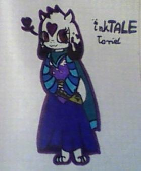 inkTALE Toriel by WIKUNIAK2