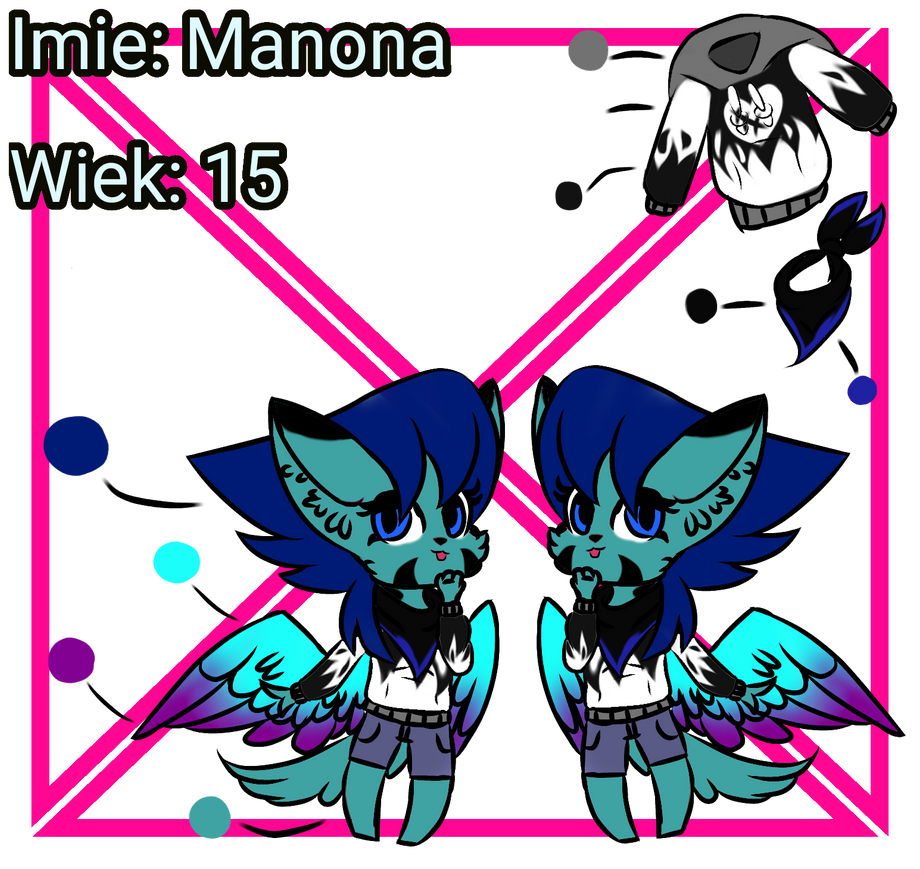 Ref my oc Manon by WIKUNIAK2