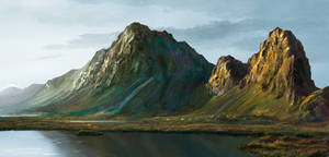 Landscape Study by mutiny-in-the-air