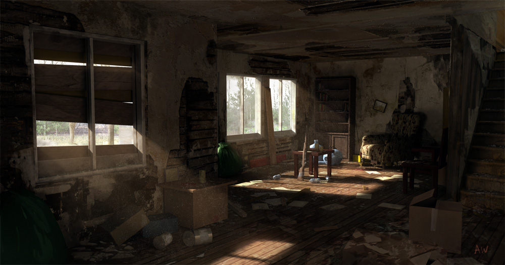 Inside the House by mutiny-in-the-air