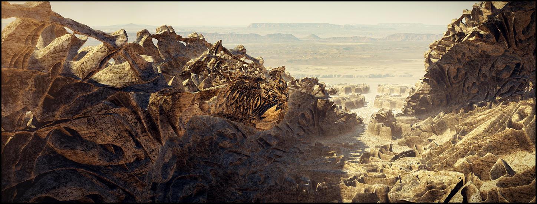 Deathtrap Land by dakonoco