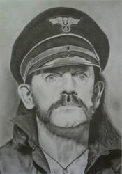 Lemmy Kilmister (Graphite Pencils) 2018 by 113MB