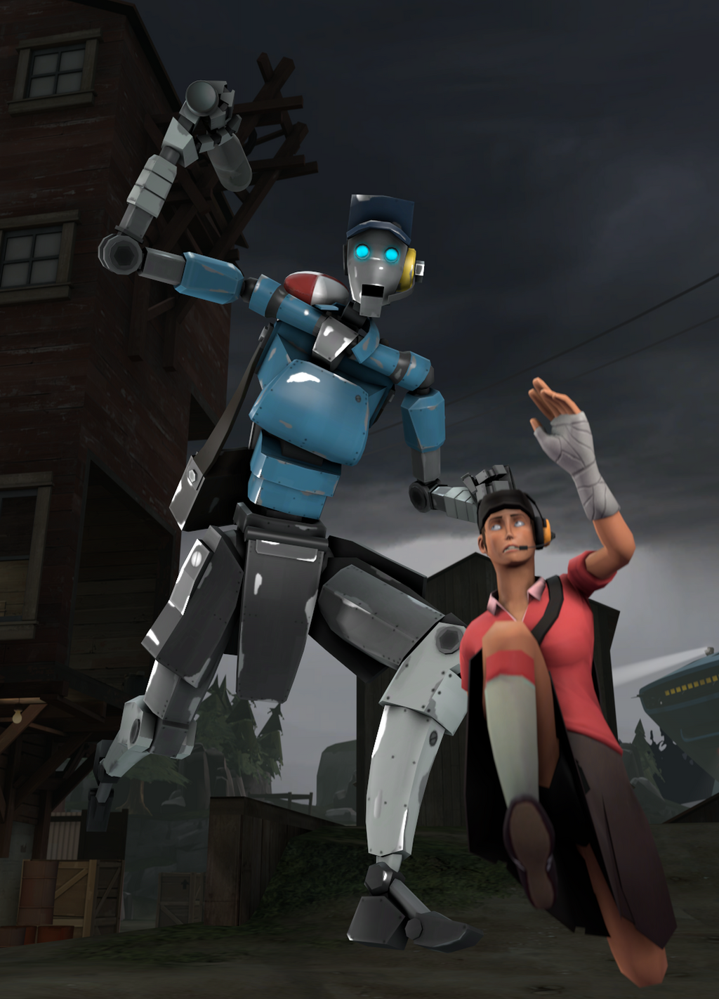 100+ Tf2 Robot Scout Hat HD Wallpapers – My Sweet Home