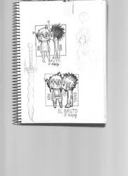 Kaya and Ravail kiss sketch