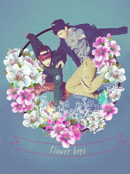 GOT7 - Flower Boys by raineesun