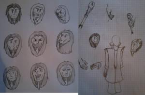 Charakter Study: Some Evil Magician 01