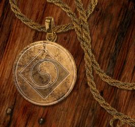 Bronze Amulett