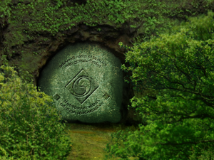 Cave / Tomb in the Woods