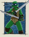It's Leonardo (colored)