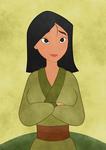 Beauty Mulan