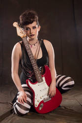 Rock chick stock 2 by A68Stock