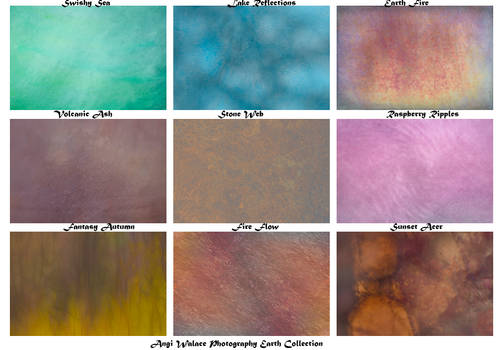 Earth collection texture pack