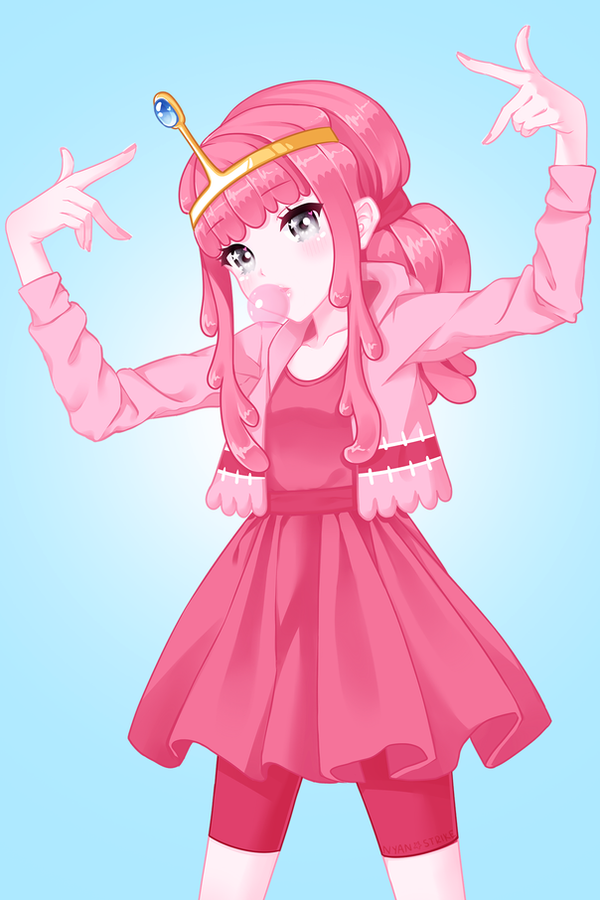 Princess Bubblegum by nyansai on DeviantArt